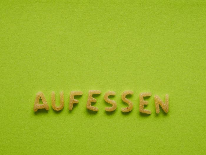 German word eat