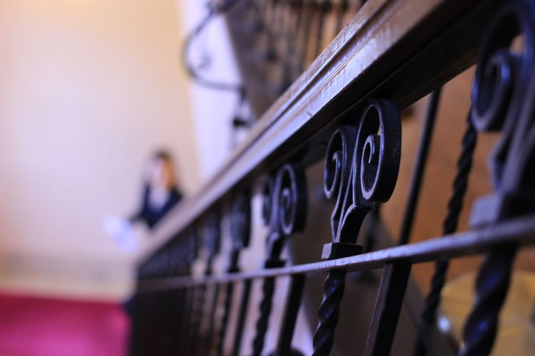 Popular Photos Japan Architecture Rail Handrail  Selective Focus Indoors  Close-up Day
