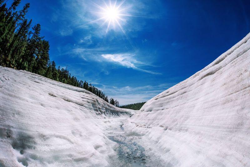 Glacier Sky