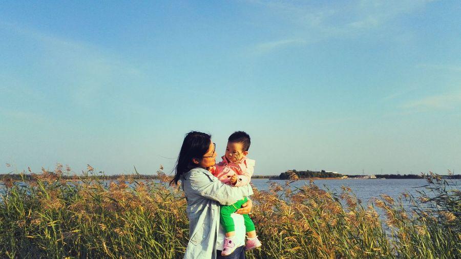 Mom And Girl ❤ Tianjin China