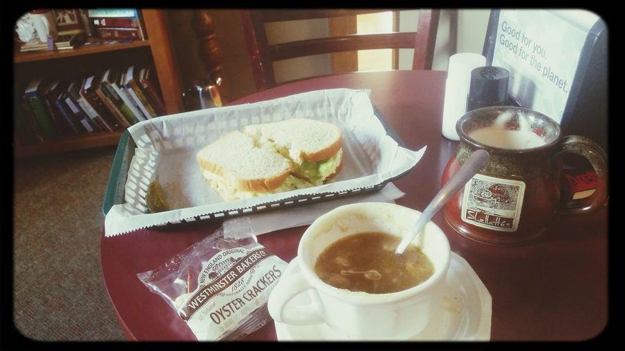 Chai Latte Soup Time  Sandwich Relaxing