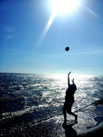 The Beach Day Seaside Sunlight Sand....