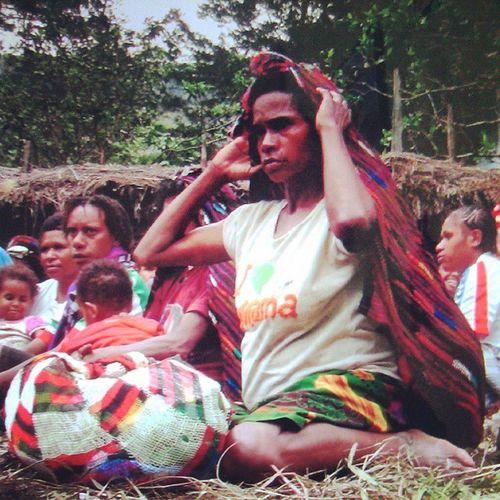 NOKEN Oyikk Hepuba Papua Kampunghalaman