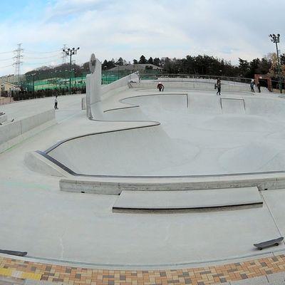 Tokyo Japan Skatepark Planetpark