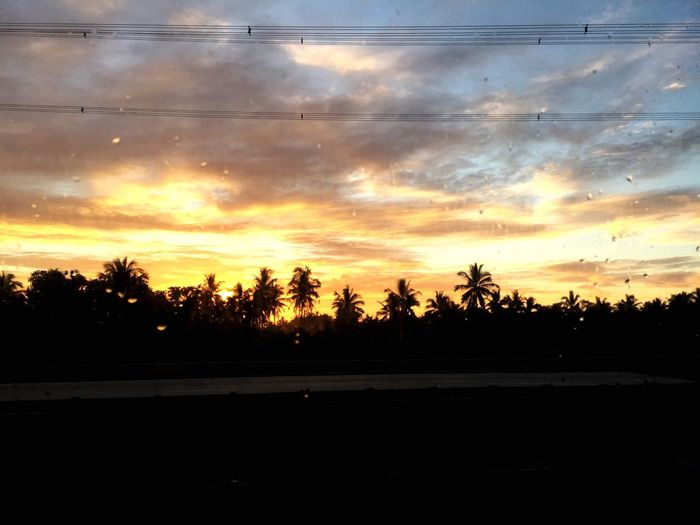 Memory lines 43 Golden Moments Power Lines Electric Grid Sunset Sky Clouds Roadtrip Colour Of Life