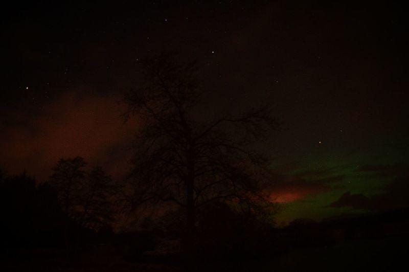 Aurora Borealis Northern Lights Scotland Night Photography Colourful Mintlaw Pitfour Lake