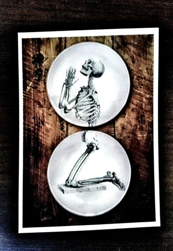 Artist Eva Kantor is indeed one of a kind! Evakantor Skeleton Skelett Artist Art