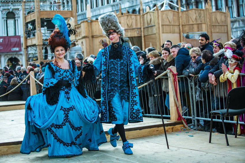 Carnival Carnival In Venice Adult Adults Only Arts Culture And Entertainment Building Exterior Carnival Costumes City Costumes Day Fashion Fashion Model Full Length Glamour Mask Outdoors People Performance Period Costume Portrait Well-dressed