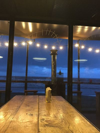 Riley's Fish Shack Tynemouth  Great Atmosphere Great Food! Beach Front Log Fire Valentines Dinner Wind And Snow Big Waves Tides In No Filter, No Edit, Just Photography Iphone 6 Tyne And Wear