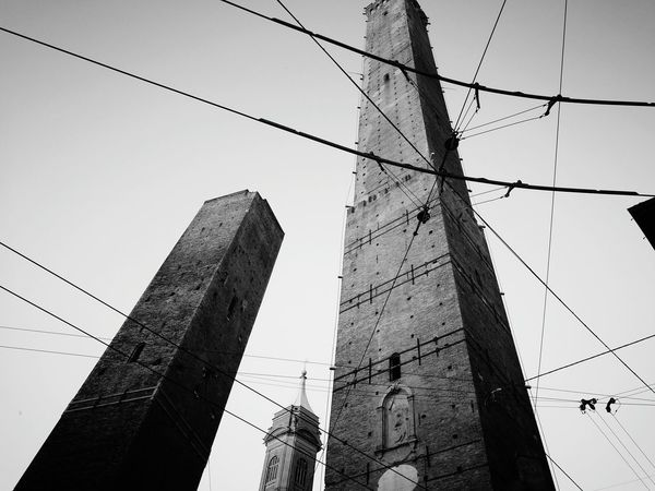 Tower Travel Destinations Built Structure Electricity Pylon City Bologna Tourism Italy EyeEm Travel Building Exterior Bologna Centre Torre Degli Asinelli