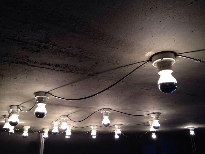 Bulb Light Shadows & Lights