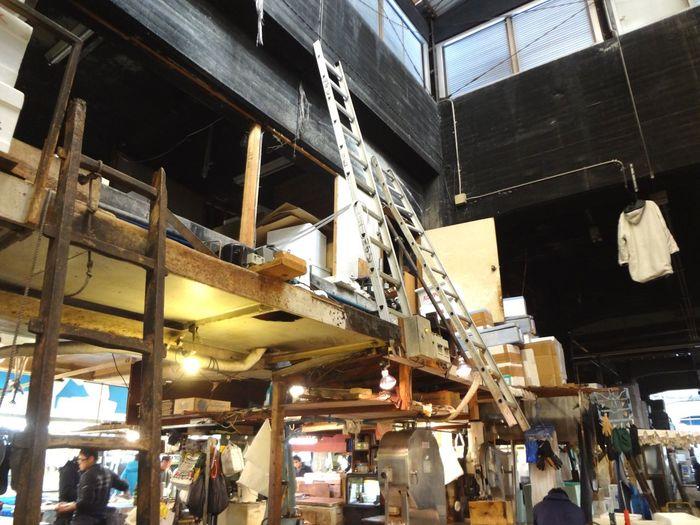 Eyeem Tokyo Meetup 11 Tsukiji Fish Market Ladder First Eyeem Photo