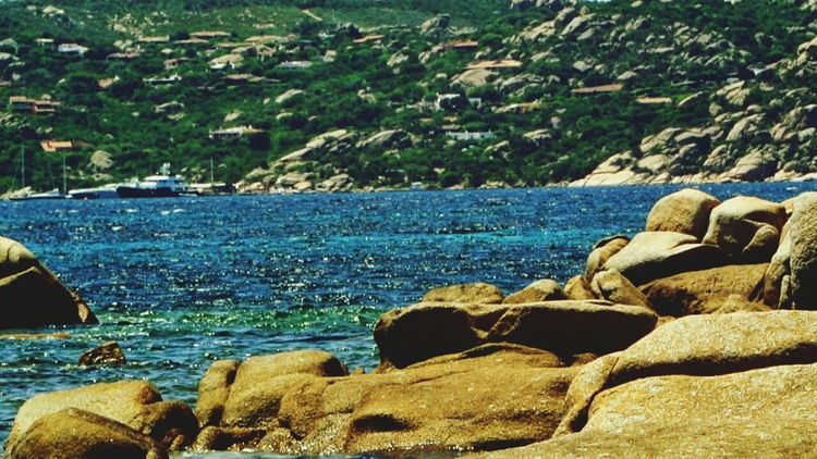 Seascape Sea View Calm Water Sea Stones Sardinia Sardegna Italy  La Maddalena Paesaggi_ditalia Paesaggi Sardi Seascapes The KIOMI Collection