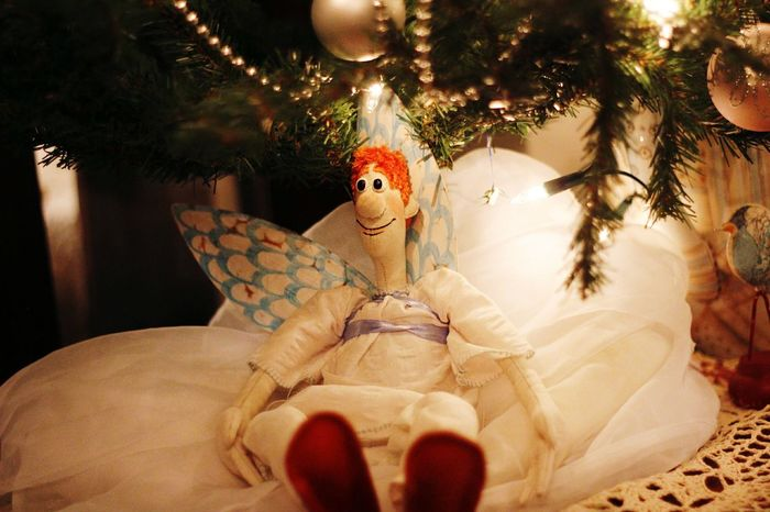 Ivan Durand Doll Dolls Doll Photography Cristmas рождество Плес Art Cristmas Time♥ 😚 Tree Indoors  One Person Human Body Part Christmas Night People Close-up