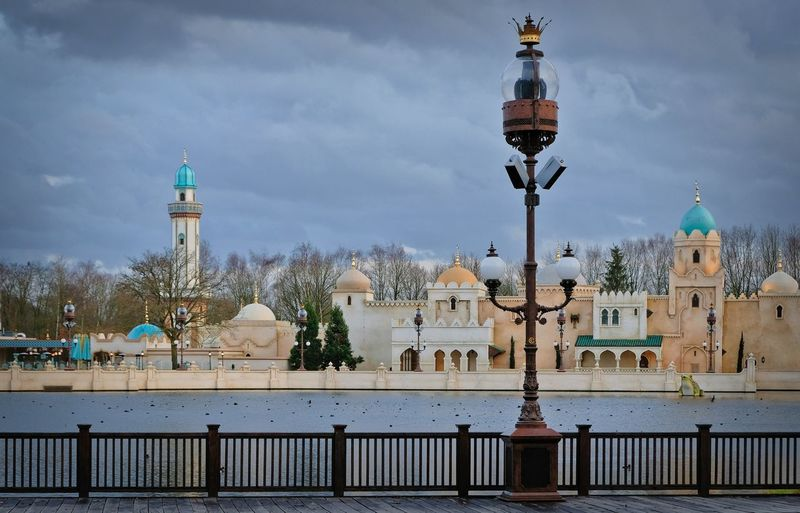 Attraction theme park the Efteling, Kaatsheuvel, the Netherlands Architecture Built Structure Building Exterior Sky Building Place Of Worship Religion Spirituality Dome Belief Nature Travel Destinations Tower The Past Cloud - Sky Travel History Railing No People Outdoors Spire