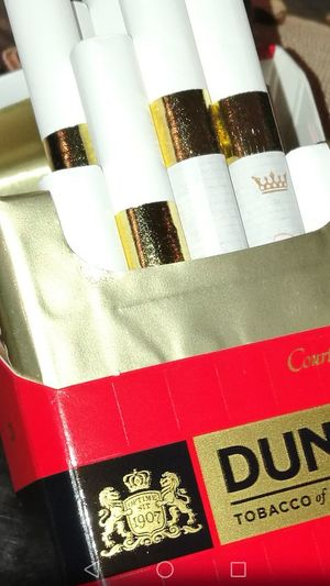 Close-up Smoke Break Nicky Nofilter Dying Slowly Love Dunhill Cigarettes Courtleigh Cancer