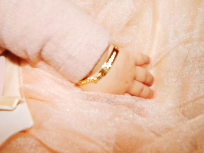 Jewelry Human Body Part One Person Love Luxury Gold Human Hand People Bracelet Importantday Princess ♥ Littlehand Manine Sweet♡