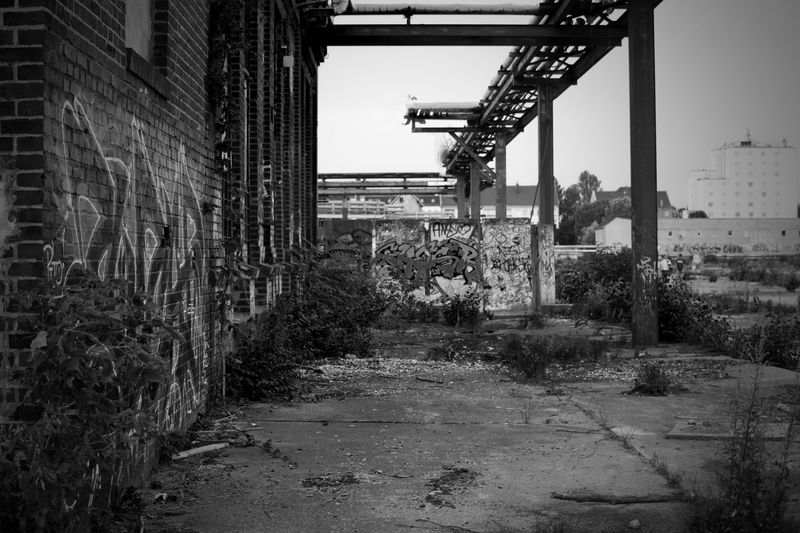 Architecture Built Structure Building Exterior Outdoors Plant Day No People City Nature Tree Sky Abandoned Abandoned Buildings Abandoned & Derelict Abandon_seekers