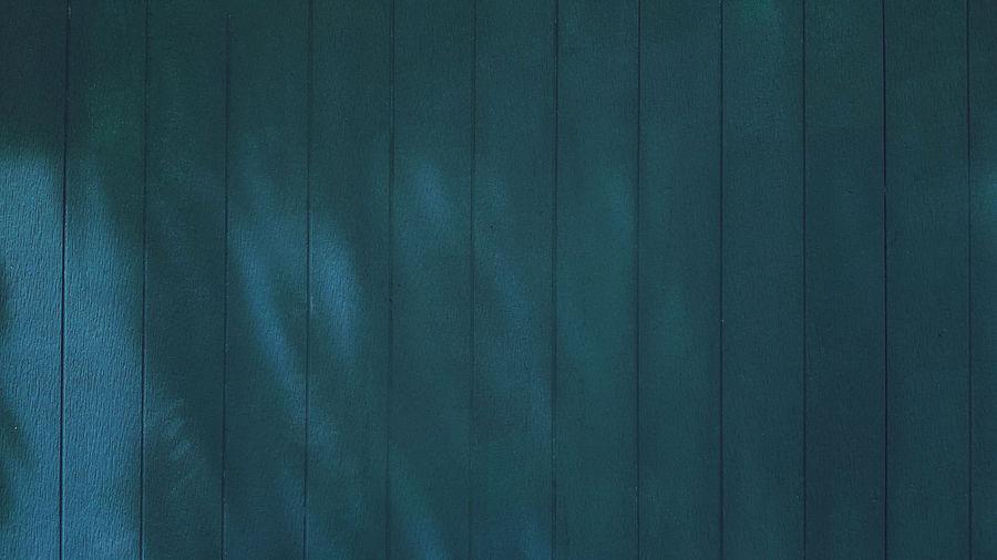 Full frame shot of blue curtain