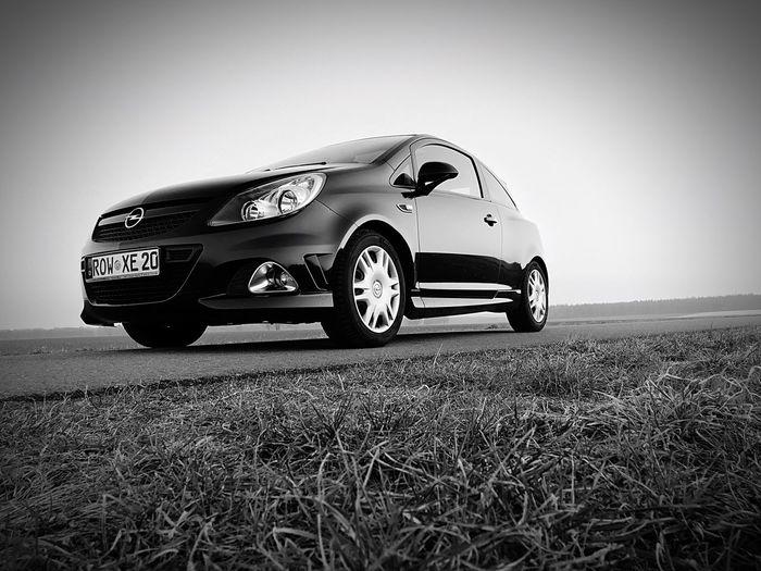 Car Land Vehicle Transportation No People Day Racecar Corsa Opel OPC