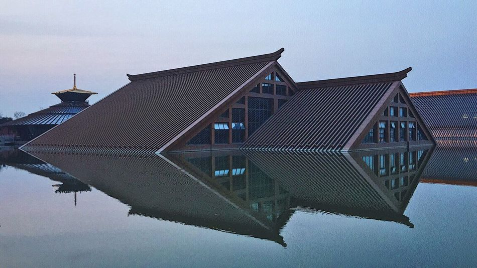 The Architect - 2017 EyeEm Awards Architecture Reflection Water China Shanghai Shanghai, China Shapes Triangle Songjiang