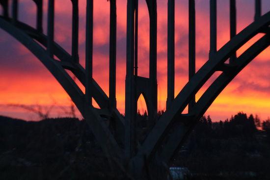 Oregon Coast Coos Bay North Bend Jewell Photography Under The Bridge Sunset #sun #clouds #skylovers #sky #nature #beautifulinnature #naturalbeauty #photography #landscape