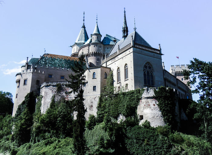 Bojnice Bojnicecastle Slovakia Castle History Historical Monuments Historical Place Castle View  Lakeside Garden Green Visiting Popular Place See Medieval Castle Gothic Beauty  Roman Architecture Attractive Most Popular Photography Picture Photooftheday Memory Lovely Day Holiday
