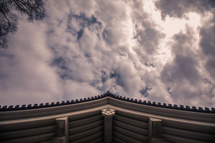 Japanese Temple Architecture Building Exterior Built Structure Cloud - Sky Sky