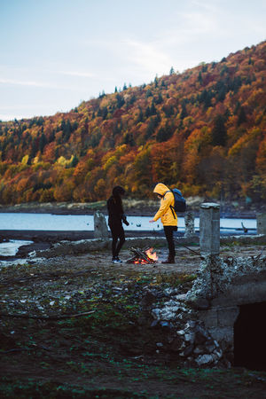 Autumn Togetherness Nature Forest Weekend Activities Mountains Raw Nature Cold Morning Camp Fire Transylvania Fire Sunset Light Landscape Autumn Pele Photography Naturephotography Mountain Peak Mountain Cold Temperature Mountain View Autumn Is Coming EyeEmNewHere