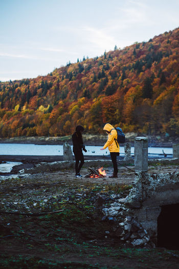 Autumn Togetherness Nature Forest Weekend Activities Mountains Raw Nature Cold Morning Camp Fire Transylvania Fire Sunset Light Landscape Autumn Pele Photography Naturephotography Mountain Peak Mountain Cold Temperature Mountain View Autumn Is Coming EyeEmNewHere The Modern Professional