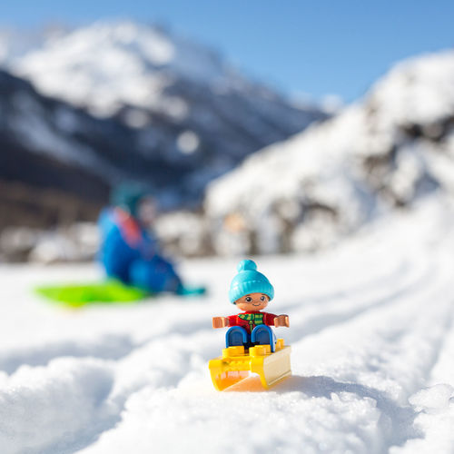 un petit tour de luge à Nevache Winter Wintertime Hautes Alpes Ski Duplo Luge EyeEm Selects Snow Winter Cold Temperature Mountain Outdoors Day