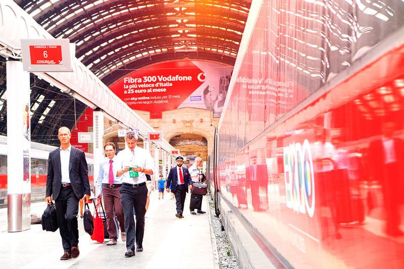 Indoors  Travel Urban Travel Train Station Vodafone