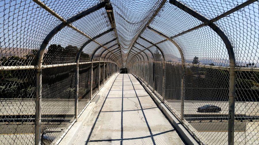 Overpass Overpass View Traffic Synnyday Shadows Filtered Light