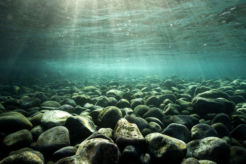 Stones undersea