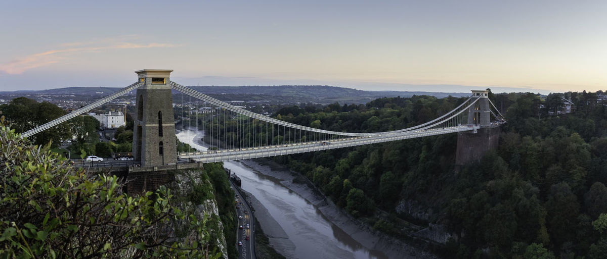 Bridge Bridge - Man Made Structure Architecture Road Sky Suspension Bridge Clifton Suspension Bridge Bristol