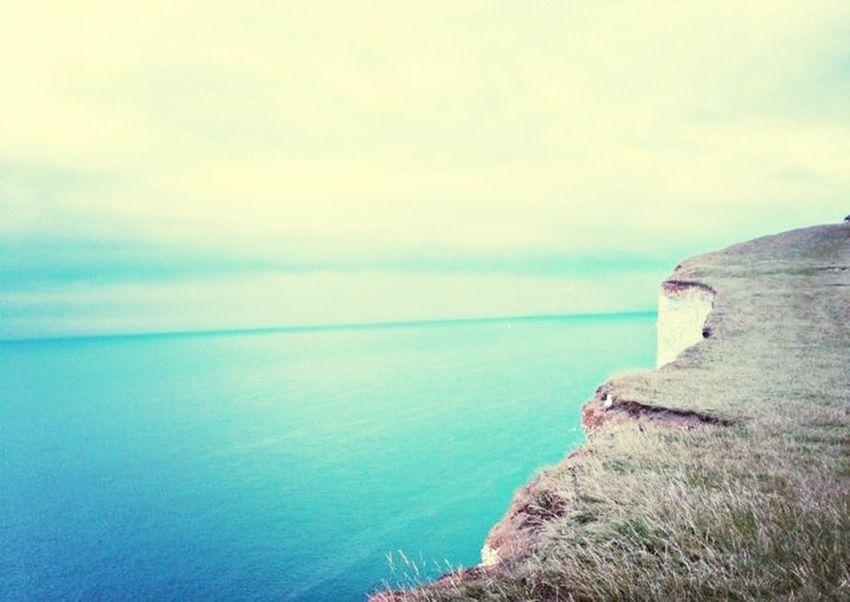 Beachy Head Brighton Taking Photos Cliffs