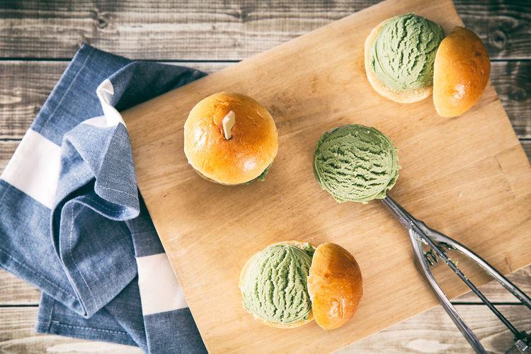 green tea ice