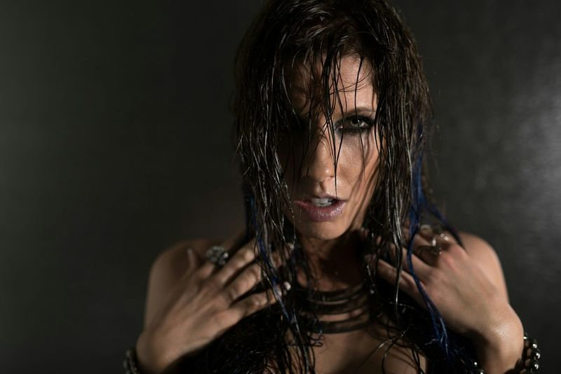 another wet hair day Wethair  Wethairdontcare Photoshoot Let Your Hair Down Check This Out Eyes Darkhair Hello World Feeling Good That's Me Hi! photo by