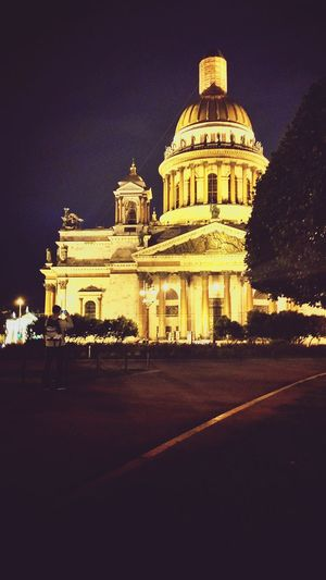 Dome Architecture Built Structure Religion Politics And Government Travel Destinations Building Exterior Night Outdoors Illuminated No People Sky EyeEm Selects Architecture Confidence  Lifestyles Arch Church Buildings