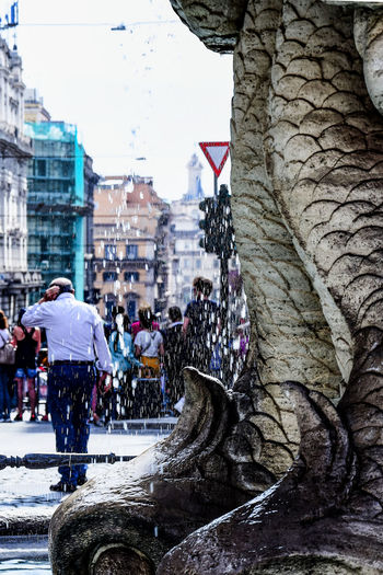 EyeEm Italy Italia Roma Rome Built Structure City Details Men People Real People