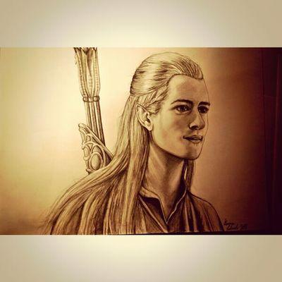 Legolas | Pencil ♡ Drawing Lordoftherings Sketch Legolas
