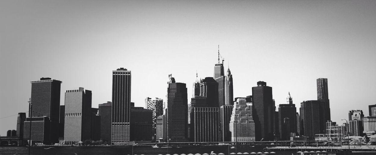 One side of the big apple - NYC New York EyeEm Best Shots - Black + White Urban Geometry