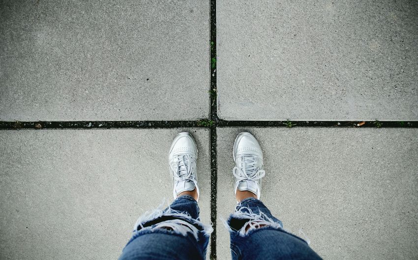 Gray day. Showcase July Fine Art Photography Simplicity Minimalism Minimalobsession Lines Structure Pattern Pieces Shoes Fashion Gray Getting Inspired Walking Around Taking Photos Shootermag EyeEm Best Shots Athleisure