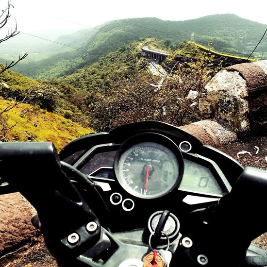 Lonavala Highway Traveling Bike Bestspot Mountains Mountain Range