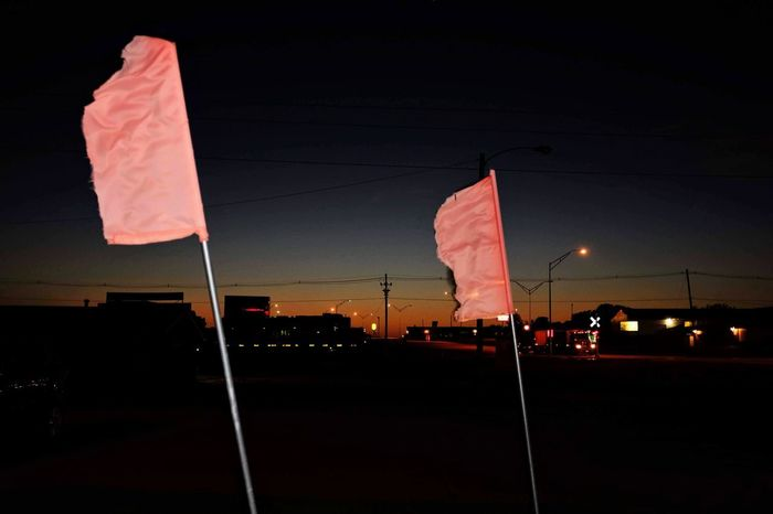 Visual Journal October 2018 Crete, Nebraska S.ramos October 2018 Visual Journal Photo Diary Always Making Photographs Camera Work EyeEm Best Shots Getty Images Photo Essay FUJIFILM X100S 35mm Camera Long Form Storytelling A Day In The Life Everyday Life Flash Photography Nightphotography Night Lights Flags Nightlife Patriotism Night Flag No People Architecture City Sky Outdoors Illuminated Nature Street Building Exterior Red Built Structure Striped Transportation Pole Low Angle View