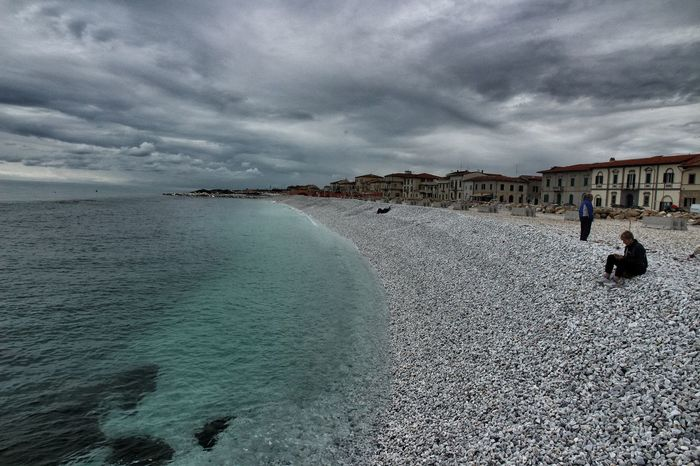 Beach Photography Costa Toscana Pier Sea And V Tirrenia Toscana Toscana ıtaly Tuscany Sea Winter Sea