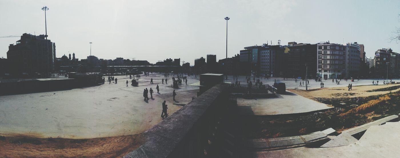 Betondan Taksim Taksim Taksim Gezi Parkı