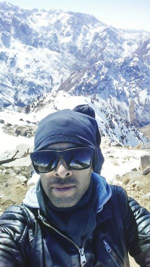 Hight in the sky Traveling Morocco Snow Mountains Enjoying Life That's Me Travel Okaïmeden Morocco People Sellfie