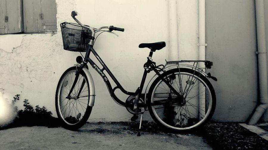 On Your Bike Bike Blackandwhite