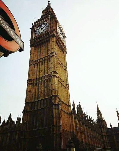 Architecture Tower Travel Destinations Built Structure Tourism History Clock Clock Face Bigbang LondonEye LONDON❤ England, UK Clock Tower Building Exterior City